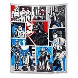 Disney Star Wars Classic Collage Plush Throw Blanket - 50'x60'