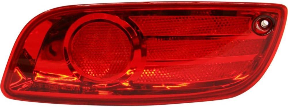 Evan-Fischer Max 52% OFF Bumper Max 81% OFF Reflector for Hyundai Ri Santa Fe 07-09 Rear