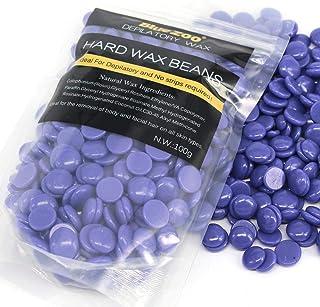 BlueZoo Depilatory Hard Wax Beans - 100 gms Lavender