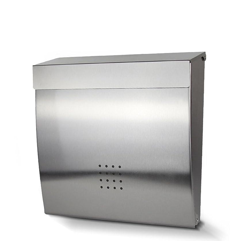 出しますクラッチ応じるHZBc ステンレススチールの郵便箱屋外のヴィラの壁は、防水メールボックス、壁の装飾をマウント