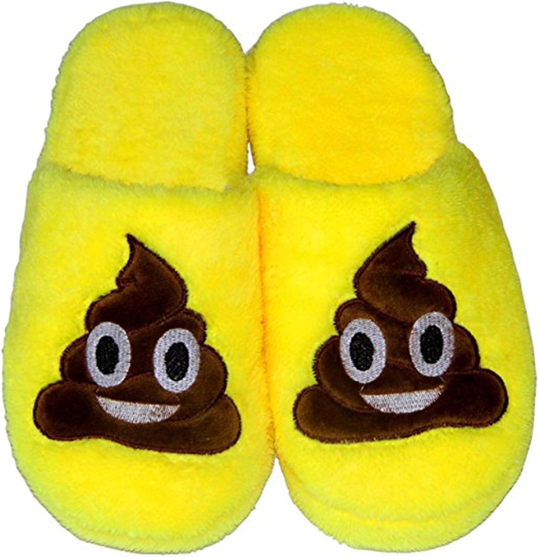 SaikerMan Unisex Emoji Warm Soft Cute shoes Indoor Household Slippers