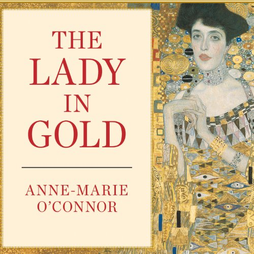 The Lady in Gold audiobook cover art