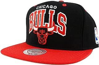 Mitchell and Ness NBA Chicago Bulls Arch 2 Tone Retro Snapback Cap