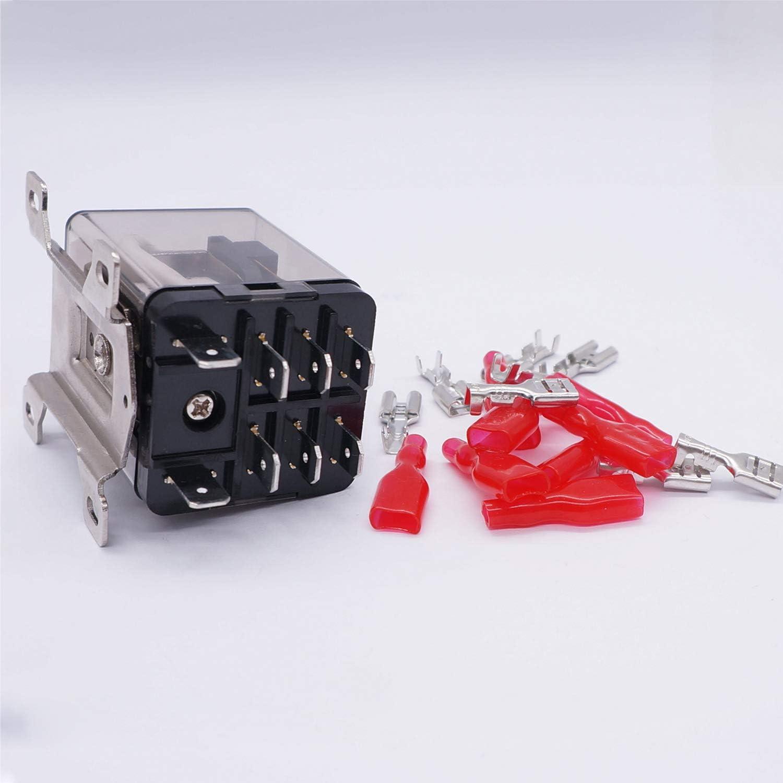 Taiss Ljqx 30f 2z Spule 8 Pin 40a Dpdt 2no 2nc Elektromagnetisches Relais Allzweck Leistungsrelais Für Fernbedienung Automatisches Steuersystem Drahtklemme Jqx 12f 2z Dc24v Baumarkt