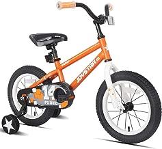 orange 14 inch bike