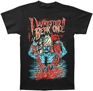 Iwrestledabearonce Men's Brother T-Shirt Black