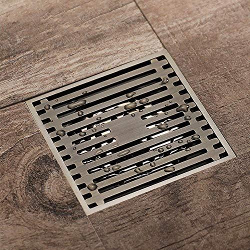 Nieuwe Chinese stijl streep vloer afvoer afvoeren Cover douche vloer afvoeren Deodorant alle koper afval afvoer vloer afvoer