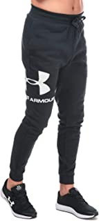 بنطلون رياضي رجالي من Under Armour مطبوع عليه شعار Rival Fleece Sportstyle