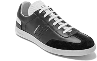 Dior Homme Men's Leather B01 Sneaker Shoes Black