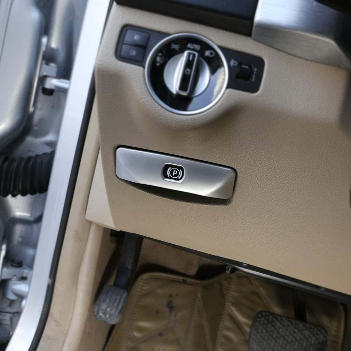 Onlogo Matte Silver ABS Max 73% OFF Max 50% OFF Chrome for Class W204 Benz C 2 GLK