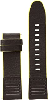 Diesel On 24mm Full Guard Black and Yellow Strap DZT0004