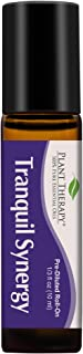 Plant Therapy Essential Oils Tranquil Synergy Blend - Stress Relief, Sleep, Peace & Calming Blend 100% Pure, Pre-Diluted Roll-On, Natural Aromatherapy, Therapeutic Grade 10 mL (1/3 oz)