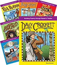 Teacher Created Materials - Reader's Theater: American Legends and Folklore - 6 Book Set - Grades 2-4 - Guided Reading Level I - S