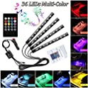 Ledmircy Car LED 12V Multicolor RGB Interior Strip Light