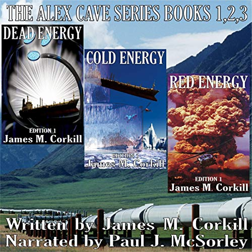 The Alex Cave Series, Books 1-3 cover art