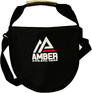 AMBER Athletic Gear Discus & Shot Put Carrier Bag for Track & Field Equipment Two Sizes.