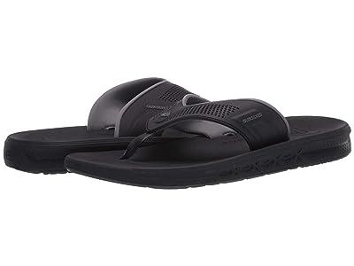 Quiksilver Current Water-Friendly Sandals (Black/Grey/Brown) Men