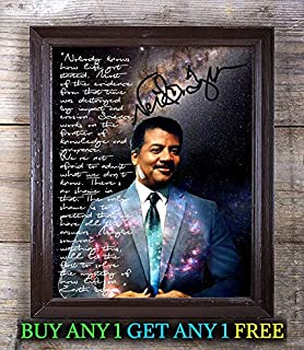 Neil Degrasse Tyson Death Black Hole Autograph Signed 8x10 Photo Reprint #87 Special Unique Gifts Ideas Him Her Best Friends Birthday Christmas Xmas Valentines Anniversary Fathers Mothers Day