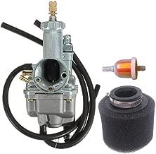 SUNROAD Replacement Carburetor fit for ATV Quad 1988-1998 Kawasaki Bayou 220 KLF220A Carb