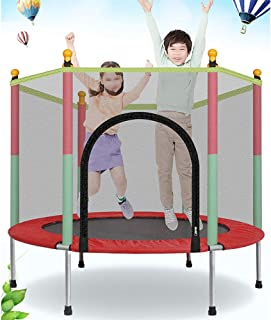 Indoor Trampoline, Kids Adult Bouncer, Baby Jumper, Children Bouncers With Guardrail Fitness, Thick Spring, Anti-Skid Shoc...
