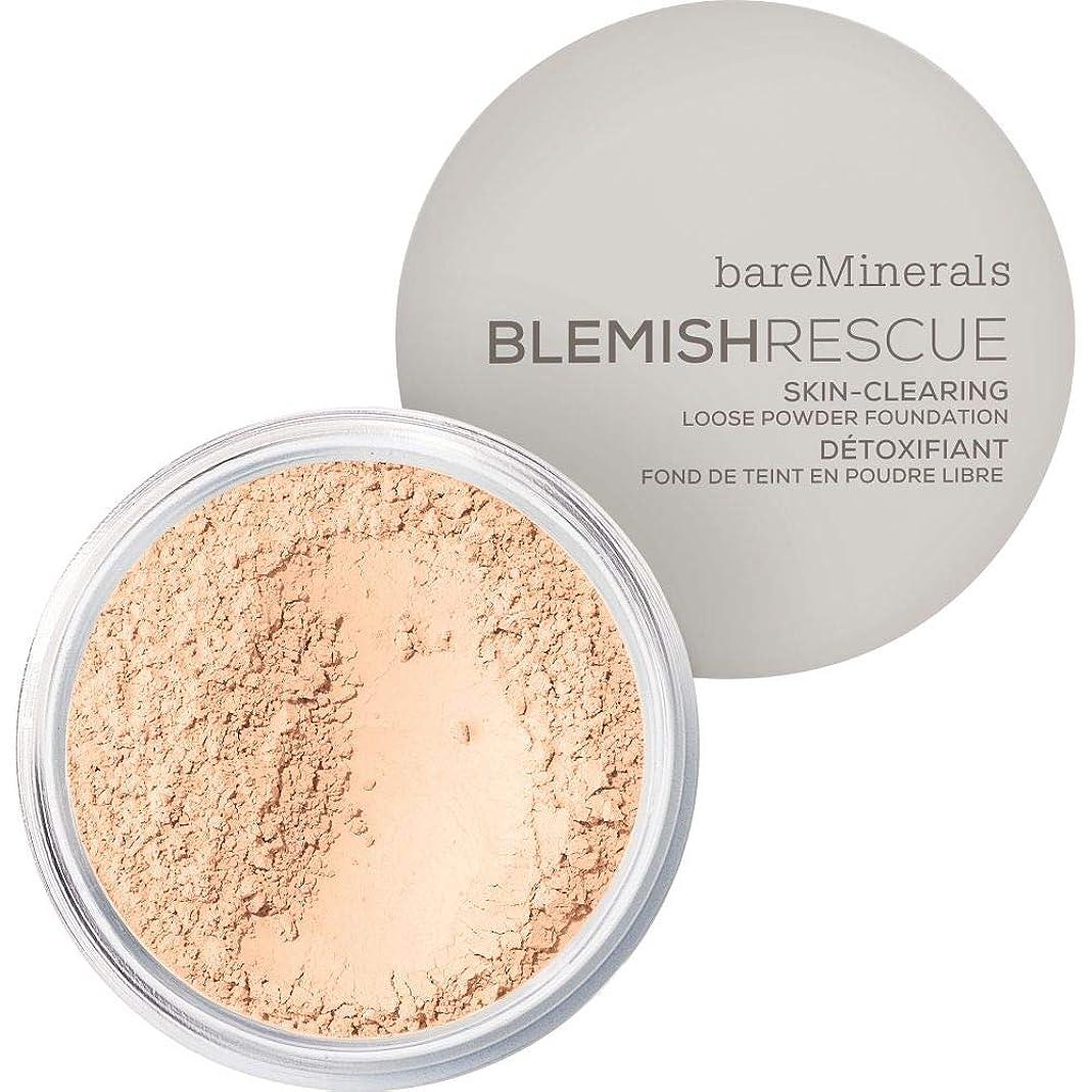 高層ビル含意大西洋[bareMinerals ] ベアミネラルは、レスキュースキンクリア緩いパウダーファンデーション6グラム1Cは傷 - フェア - bareMinerals Blemish Rescue Skin-Clearing Loose Powder Foundation 6g 1C - Fair [並行輸入品]