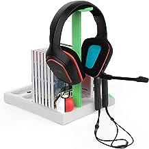 TwiHill Suporte de carregamento para JoyCons, Dock de carregamento de resfriamento para Nintendo Switch Pro Controller e J...