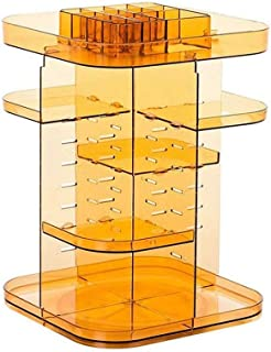 منظم المكياج 360 درجة دوران 7 طبقات قابلة للتعديل أنواع مختلفة من مستحضرات التجميل متعددة الوظائف وكبيرة الحجم