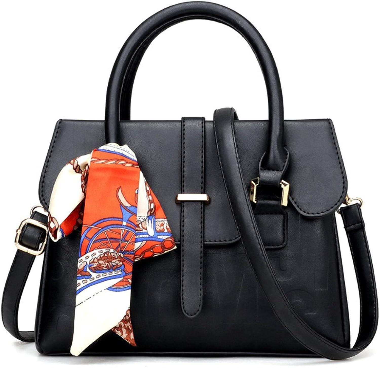 Meaeo Einzelne Schulter Diagonal Tasche   Neue Handtaschen   Mode Handtasche Geprägt Briefpackung Schwarz B07FBPBDCC  Qualität und Quantität garantiert