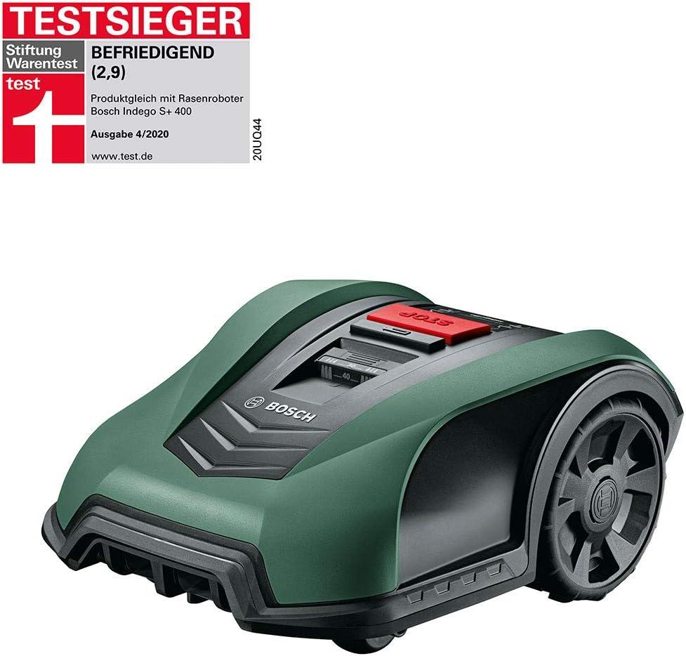 Bosch Robot cortacésped Indego S+ 350, función de aplicación, ancho de corte 19 cm, superficie de césped hasta 350 m²
