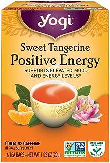 Yogi Tea Sweet Tangerine Positive Energy, 16 teabags, 1 box by Yogi Tea