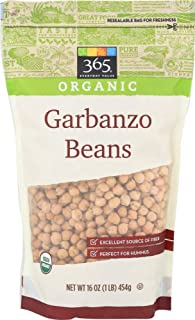 365 Everyday Value, Organic Garbanzo Beans, 16 oz
