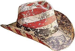 American Flag Distressed Cowboy Hat (Distressed)