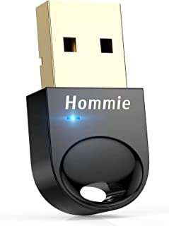 comprar comparacion Hommie Bluetooth USB PC, Bluetooth 4.0 USB Adaptador Pendrive con BLE Tecnología y Indicadora LED para Windows 10,8,7,8.1 ...