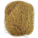 Banane Natürliche Kokosfaser, Bequeme Einstreu für kleine Vögel und Tiere, Nestmaterial, ideal für Nestbau und Verstecke, 3,5 Unzen / 100 g
