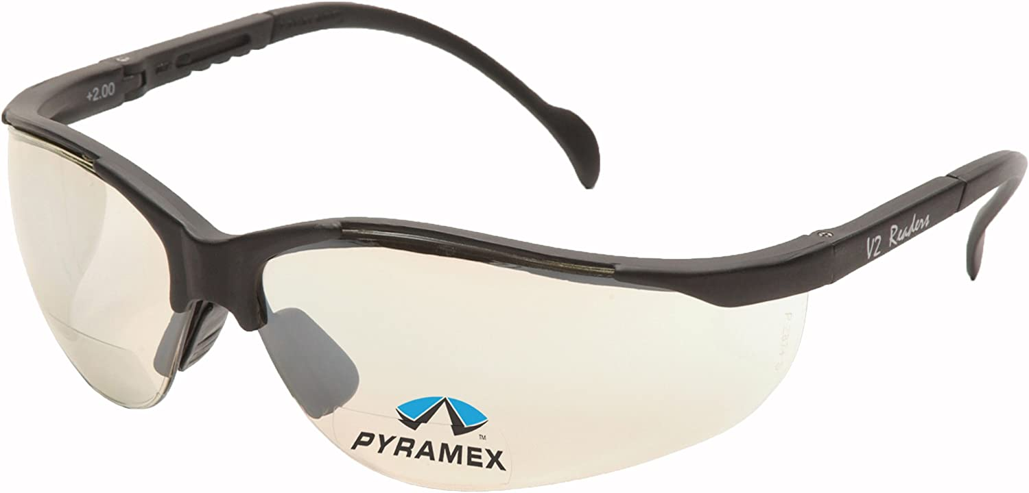Pyramex V2 Bifocal famous Reader Choice Safety Protective Glasses Eyewear
