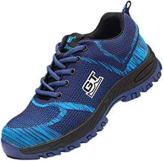 Aiweijia Safety Shoes Men Women Work shoes Protective shoes Running shoes