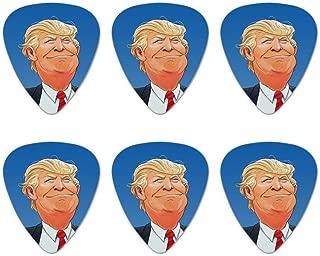 Happy Donald Trump Make America Great Novelty Guitar Picks Medium Gauge - Set of 6