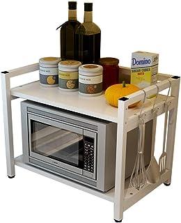 DUDDP rangement cuisine Rangement Organisateur Support de stockage Support for four à micro-ondes Support for four à 2 niv...
