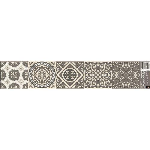 plage 197031 Adhésif pour Contremarches d'Escaliers, Vinyle, Beige, 100 x 0,1 x 19 cm