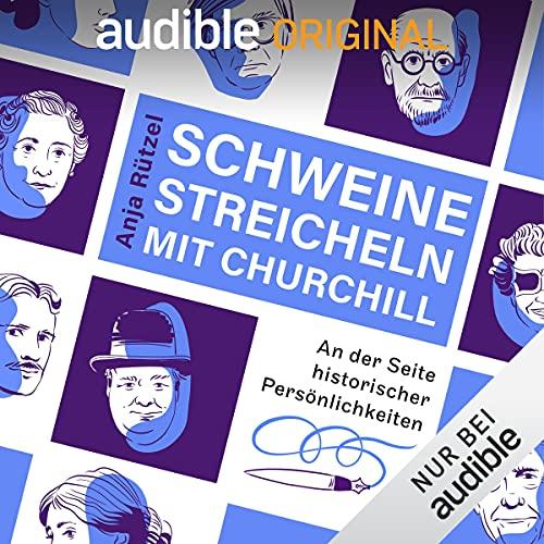 Schweine streicheln mit Churchill Titelbild