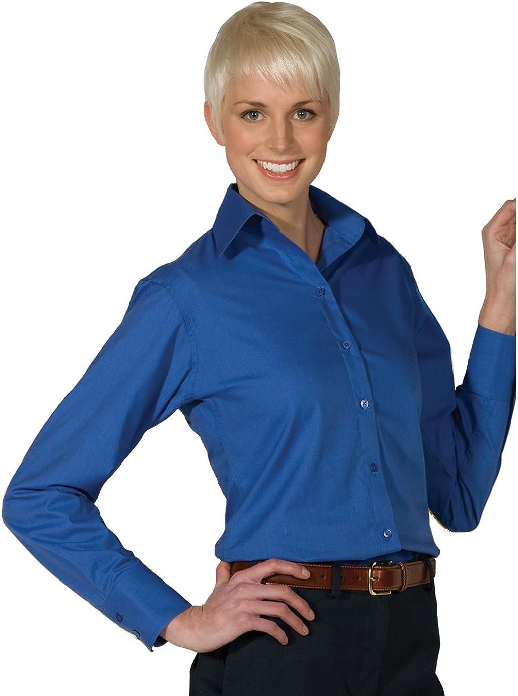 Averill's Sharper Uniforms Women's Ladies Neck Open Poplin Ranking TOP3 Resta Fixed price for sale