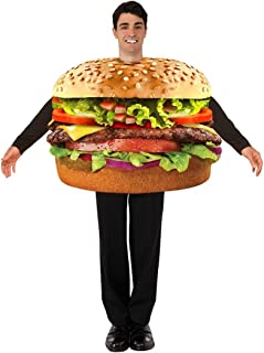 Hamburger Adult Costume