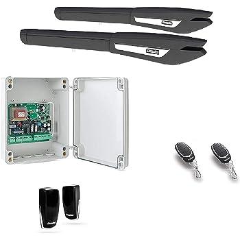 Kit completo motor electromecánico puertas batientes de doble hoja Motorline Persa, alta calidad, gran diseño, robusto y duradero.: Amazon.es: Bricolaje y herramientas