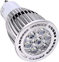 LED Light Bulb GU10 7W SMD 3030 600-700 LM Warm White/Cool White Clear LED Spotlight AC 85-265V AC 220-240V AC 110-130V (1...