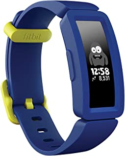 Fitbit フィットビット フィットネストラッカー Ace 2 お子様向け 超軽量20g ナイトスカイ+ネオンイエロー【日本正規品】 FB414BKBU-FRCJK