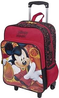 Mochila Infantil Masculina Mickey Mouse de Rodinhas