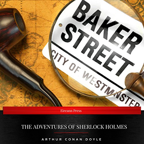 Page de couverture de The Adventures of Sherlock Holmes (German edition)