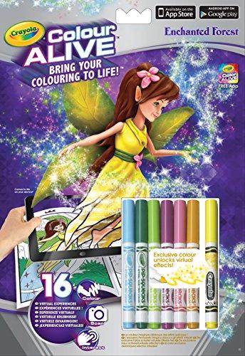 Crayola Color Alive - Kit de Loisirs Créatifs - Forêt Enchantée