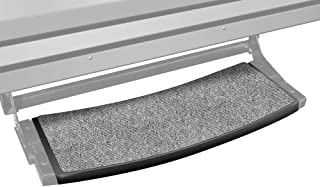 Prest-O-Fit 2-0373 Outrigger Radius RV Step Rug Castle Gray 22 In. Wide