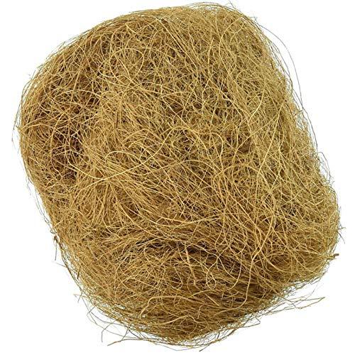 100 g de fibra de coco natural a tus mascotas también les encantará excavar y esconderse para forrar nido de pájaros.